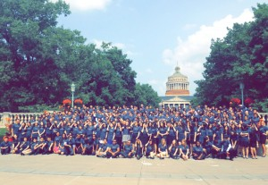 The MS Class of 2015 at Simon Orientation