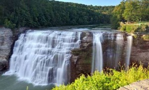 """Letchworth State Park, also referred to as the """"Grand Canyon of the East."""""""