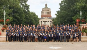 MBA Class of 2017, during Simon Orientation