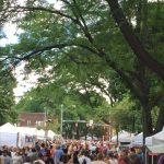 Park Ave Fest was awesome -- it was the 40th annual event and is just minutes from the University of Rochester.