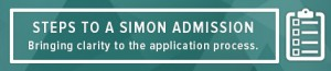 Blog -- Steps to A Simon Admission