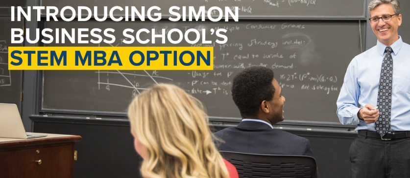 Simon Introduces STEM MBA Option